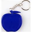 Apple shape tape measure key chain