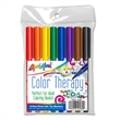 8 Pack Color Therapy Adult Coloring Markers-Classic Colors