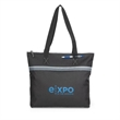 Muse Convention Tote - Polyester tote with zipper closure.