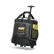Bravo Wheeled Cooler - 32-can polyester wheeled cooler with push-button telescoping handle.