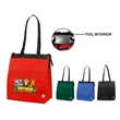 ECO Tote bag - Recyclable lead free tote bag with hot/cold lining, zipper closure.