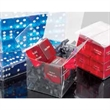 """1"""" Transparent Decision Maker Dice - 1"""" transparent decision maker dice. Comes with 5 imprinted sides: yes, no, maybe, tomorrow, and today. Print 6th side."""
