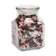 Tootsie Rolls in Large Glass Jar