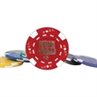 Ace/Jack Clay Poker Chips, 11.5 Gram - Casino-style, heavyweight 11.5 gram imprinted ace/jack poker chips.