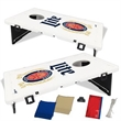 Bean Bag Toss Portable Cornhole Game - Portable bean bag toss game, full color imprint, next day turn around, affordable with a LIFETIME Warranty!
