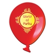 Balloon Shaped Full Color Coaster - Make a big lasting impression with these full color process coasters!