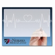 """Dry Erase Skins - 8 1/2"""" x 11"""" phthalate-free vinyl dry erase skin with a removable adhesive and optional black dry-erase pen and clip."""