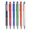Aluminum Ballpoint Pen With Color Matching Stylus