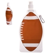 HydroPouch!(TM) 22 oz. Football Collapsible Water Bottle