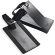 Leeman New York Majestic Leather Luggage Tag