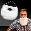 White Beard with Elastic Band