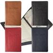 Leeman New York Voyager Passport Jacket - Leather top grain passport jacket to protect passport when travelling.