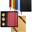 Tuscany™ Junior Journal & Ferrero Rocher® Chocolate Gift Set - Faux leather journal and 3-pack of hazelnut chocolates.