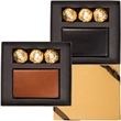 Ferrero Rocher (R) Chocolates & Alpine Card Case - Card case and 3-pack of hazelnut chocolates.