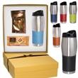Godiva® and Tuscany™ Tumbler Gift Set - Stainless steel tumbler gift set.