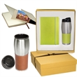 Tuscany™ Journal & Tumbler Gift Set - Journal with stainless steel tumbler.