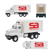 Refrigerated Box Truck Pull Back - Refrigerated box truck replica with pull back function.
