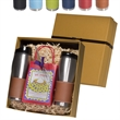 Tuscany™ Tumblers Decadent Cocoa Gift Set - Gift set featuring hot cocoa mix, whish and two 16 oz. Tuscany™ tumblers