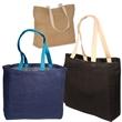 Eco-Green Jute Tote - Jute tote bag, made from jute, a natural vegetable fiber.