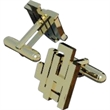 Cufflinks - We have been making both precious metal and non-precious metal cufflinks with alloy backs for 30 plus years.