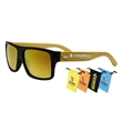 Bamboo Sunglasses - Yellow - Bamboo Sunglasses