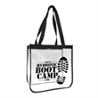 Promo Stadium Tote - Our clear PVC stadium tote is perfect for all sporting events. Complies with NFL and PGA security bag requirements.
