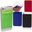 Mobile Device Pocket - Lycra® pocket with removable polyurethane adhesive back.