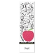 Seed Paper Shape Coloring Bookmark