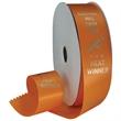 Hot Stamped Ribbon Rolls (7 Widths) - Hot Stamped Ribbon Rolls