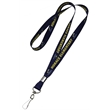 """1/2"""" Dye-Sublimation Full Color Lanyard w/ J-Hook attachment"""