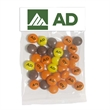 Large Header Bags - Imprinted Reese's Pieces