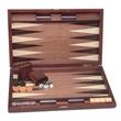 Wood Pinwheel Backgammon - 19 in. - Wood pinwheel backgammon - 19 in.