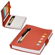 Eco Stowaway Sticky Jotter With Pen - Sticky jotter with pen.