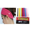Dynamic lady's elastic sports headband - Smooth Polyester stretchable sports headband