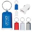 Mini USB Car Charger Key Chain