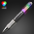 Floating pebbles light-up pen