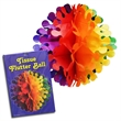 Rainbow Flutter Ball Decoration