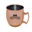 Moscow Mule Mug - Copper-Plated Stainless Steel - 17 ounce copper-plated Moscow Mule-style drinking mug.,