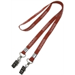 """3/8"""" Double Ended Polyester Lanyard"""
