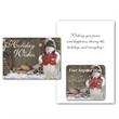 Greeting Card with Magnetic Calendar - Bi-fold greeting card with magnetic one-year calendar.