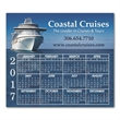 """Calendar Sq Crnr Magnet 3-13/32 x 3-29/32 - 3 13/32"""" x 3 29/32"""" calendar magnet with square corners and full color process customization."""