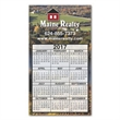 """Calendar Large Magnet 3-29/32 x 6-15/16 - 3 29/32"""" x 6 15/16"""" calendar magnet with square corners and full color process customization."""