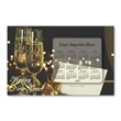SuperSeal Laminated Card With Calendar Magnet - Laminated post card with business card magnet.
