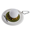 PVC Golf Putt Target & Bag Tag - Create your own putting hole anywhere. Great for indoor or outdoor use. Use as a coaster.
