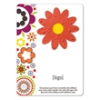 Panel Card with Seed Paper Shape- Easy Way Stock Designs