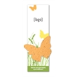 Small Seed Paper Shape Bookmark- Stock Designs