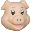 Pig Funny Face Stress Reliever