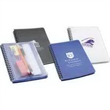 Hardcover notebook with pouch