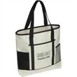Excursion Market Tote - Stylish tote bag with front and side pockets.