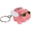 Flying Pig Key Chain Stress Reliever